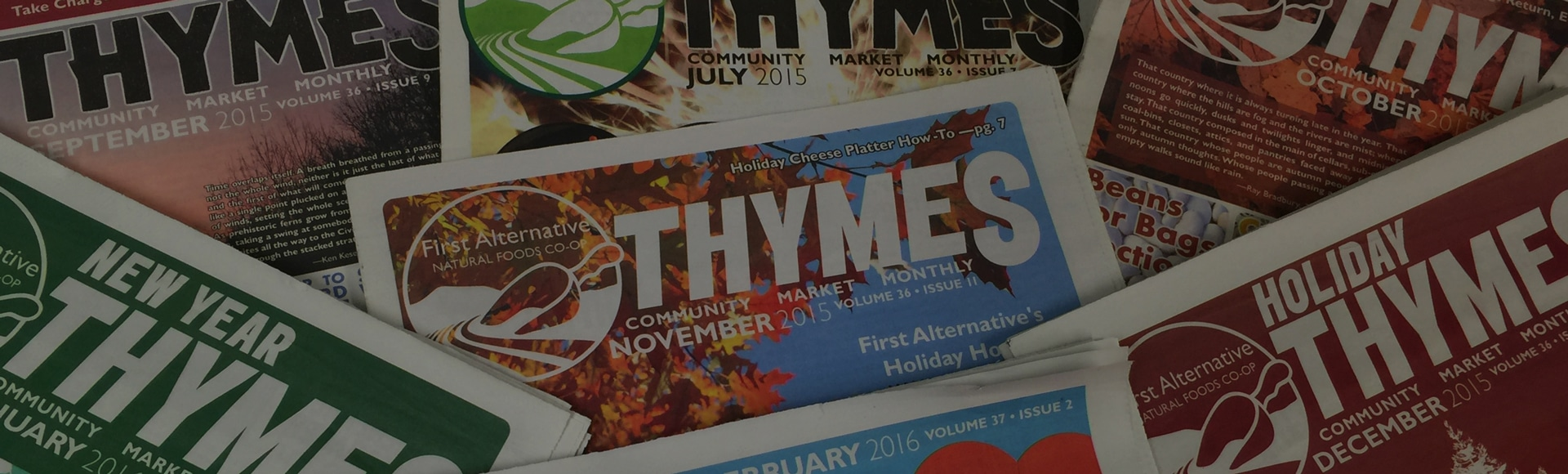 THYMES Monthly Newsletter