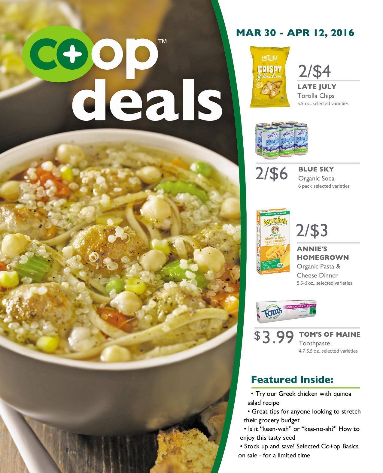 Co+op Deals April 2016 - Flyer A