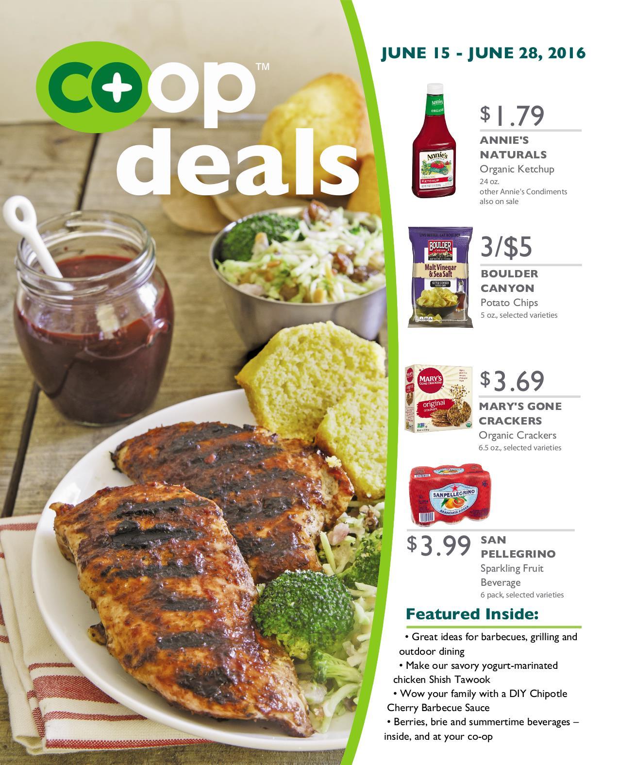 Co+op Deals June 2016 - Flyer B