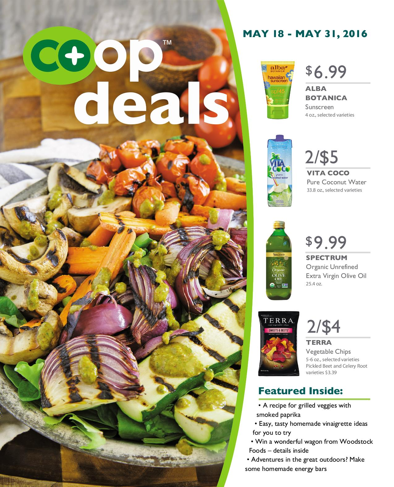 Co+op Deals May 2016 - Flyer B