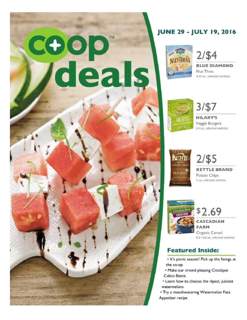 Co+op Deals July 2016 Flyer A
