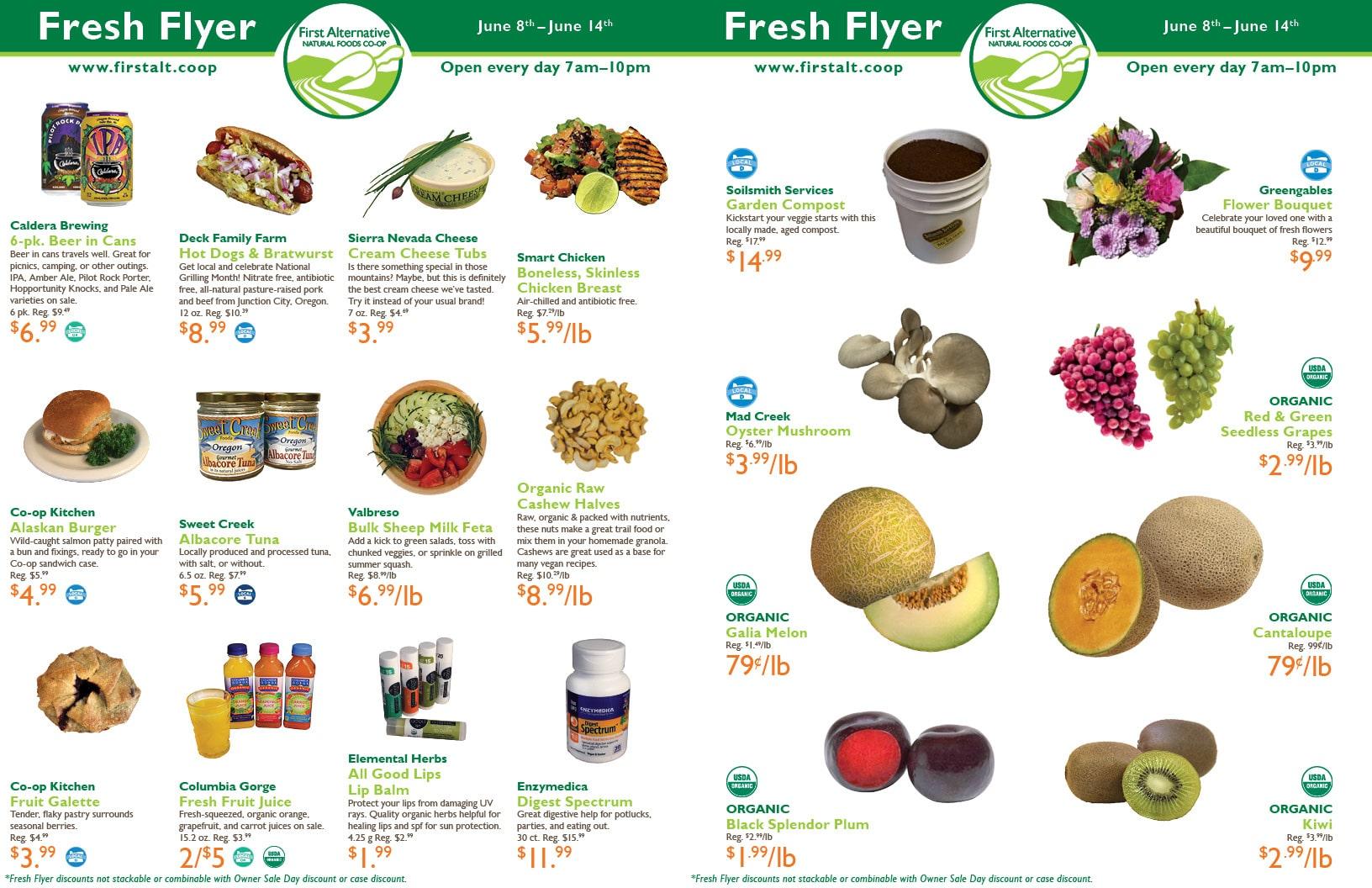 First Alternative Co-op Fresh Flyer June 8-14