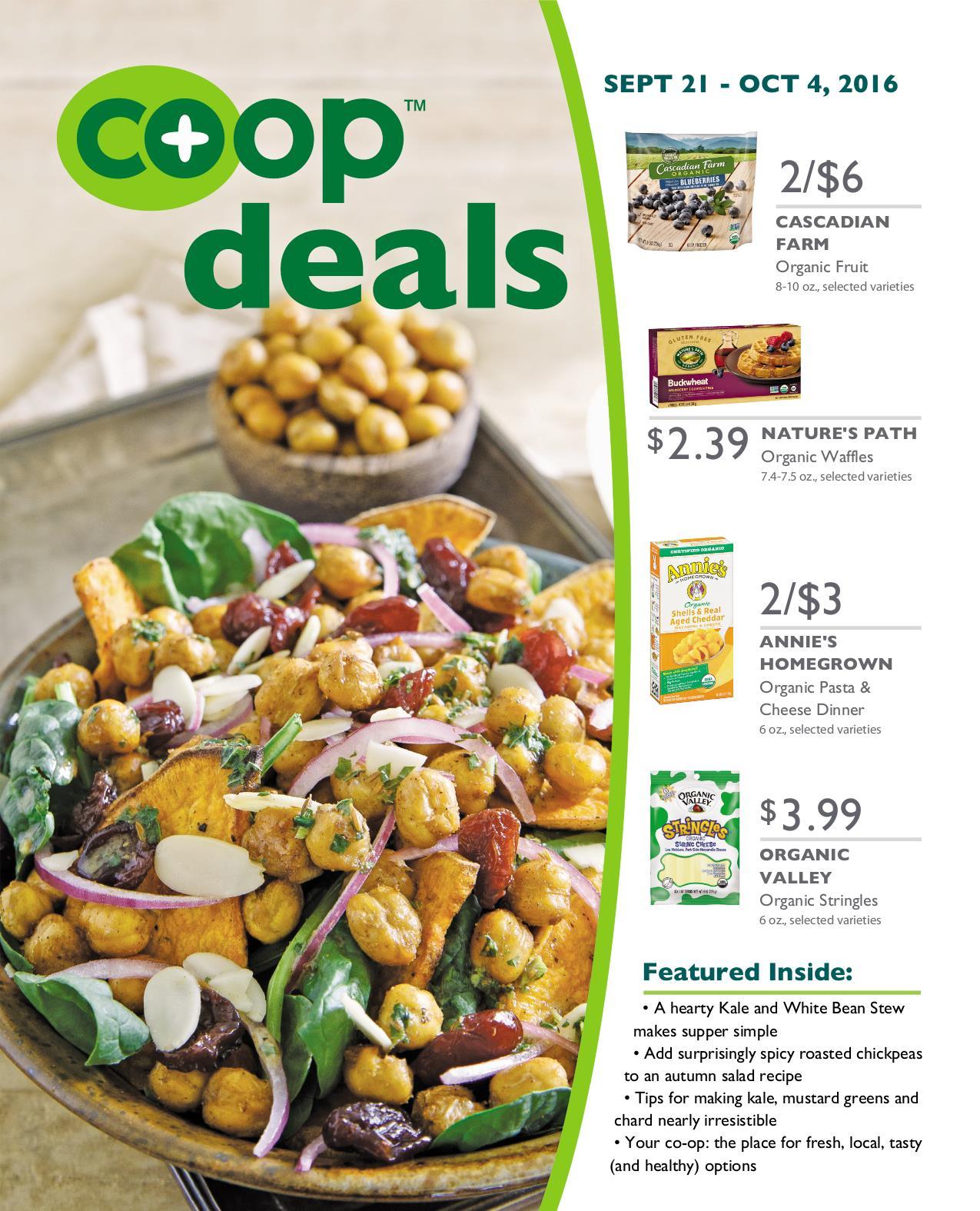 Co+op Deals September 2016 - Flyer B