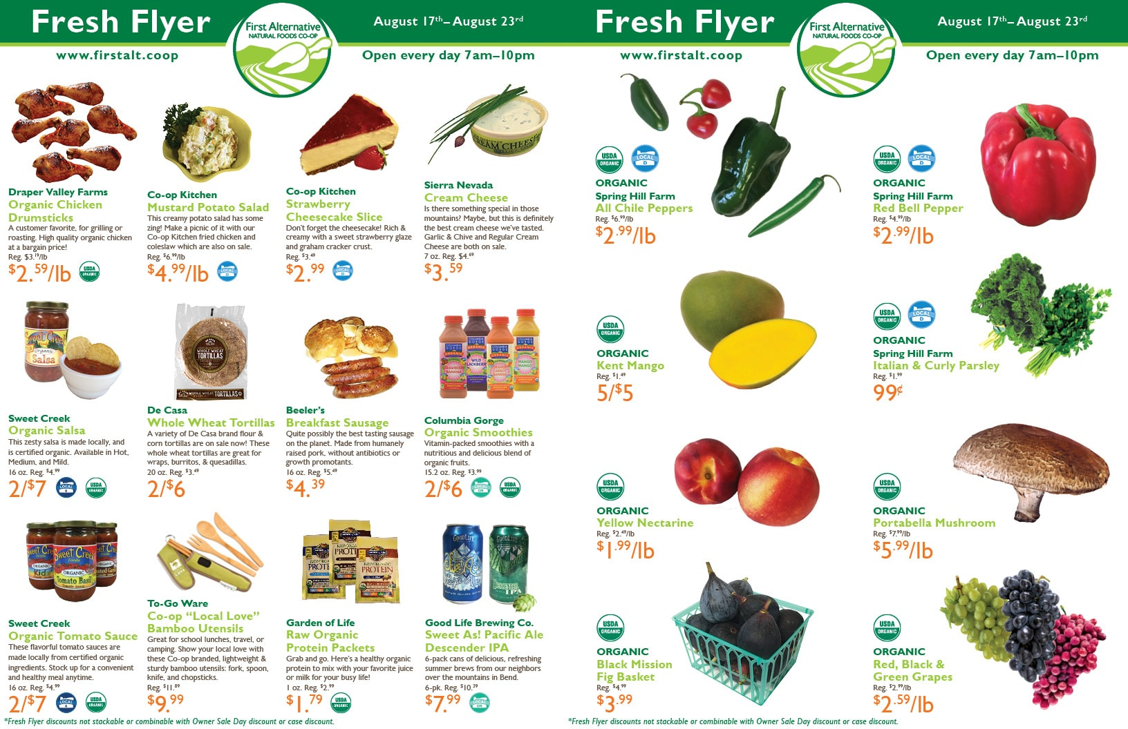 First Alternative Fresh Flyer Aug 17-23