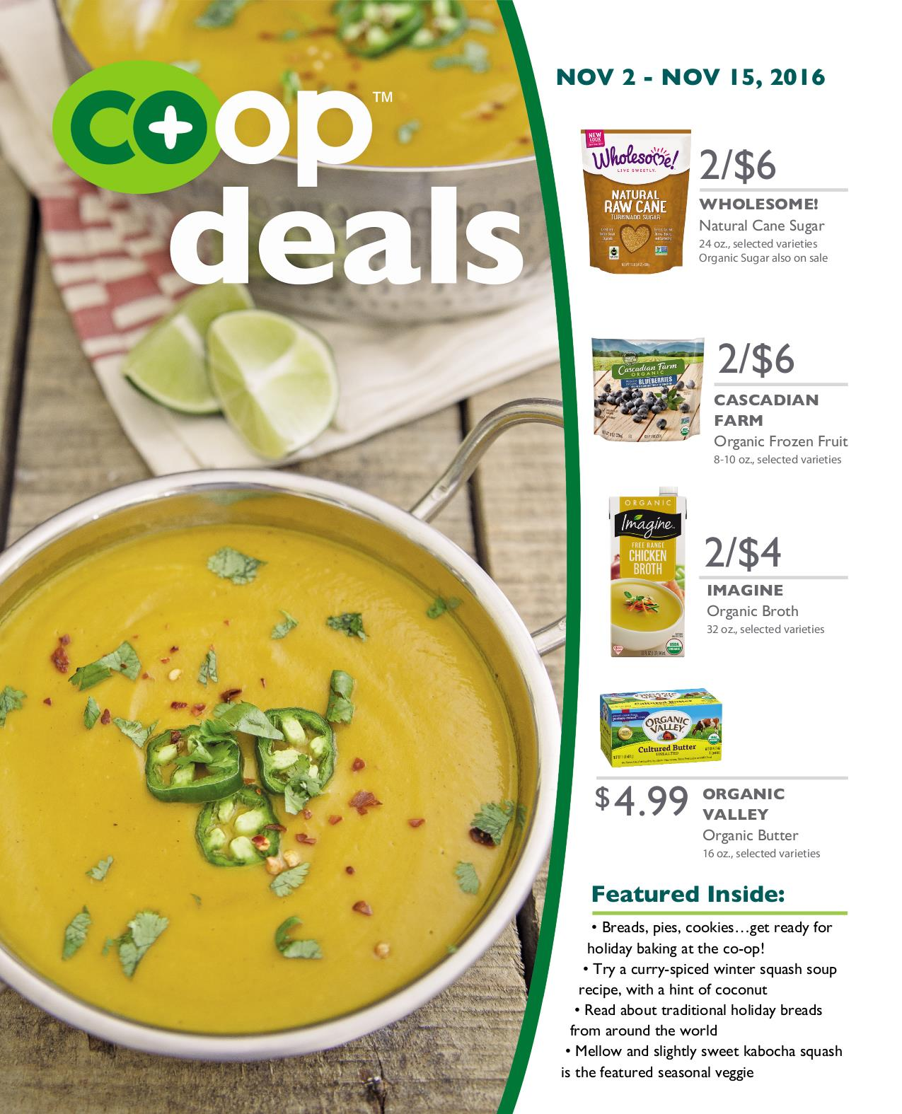 Co+op Deals November 2016 - Flyer A