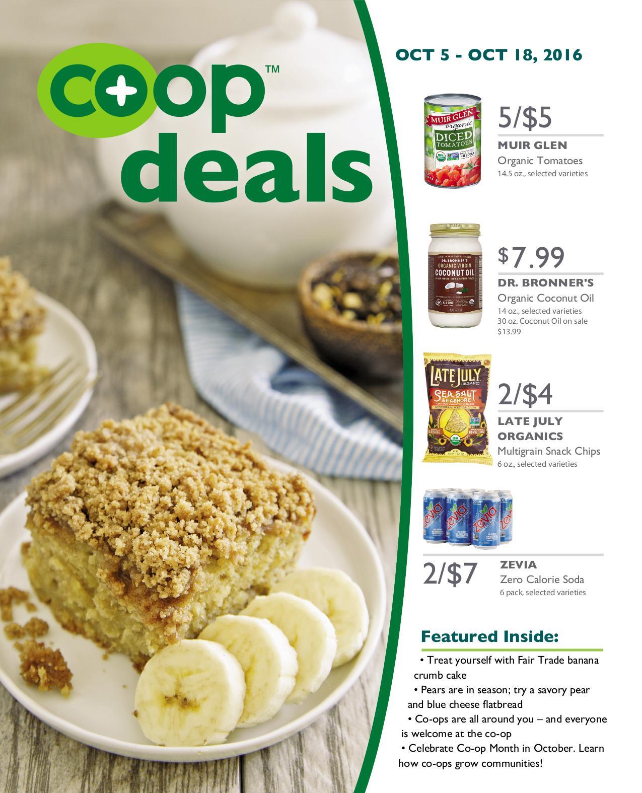 Co+op Deals Oct 2016 Flyer A