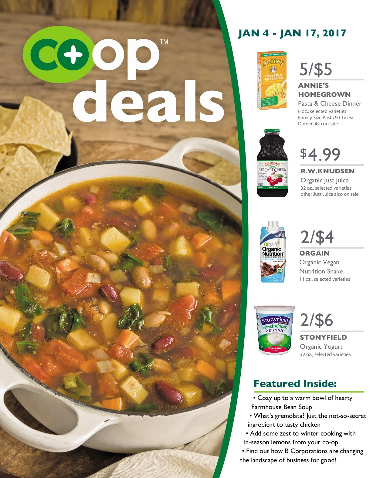 Co+op Deals January 2017 - Flyer A