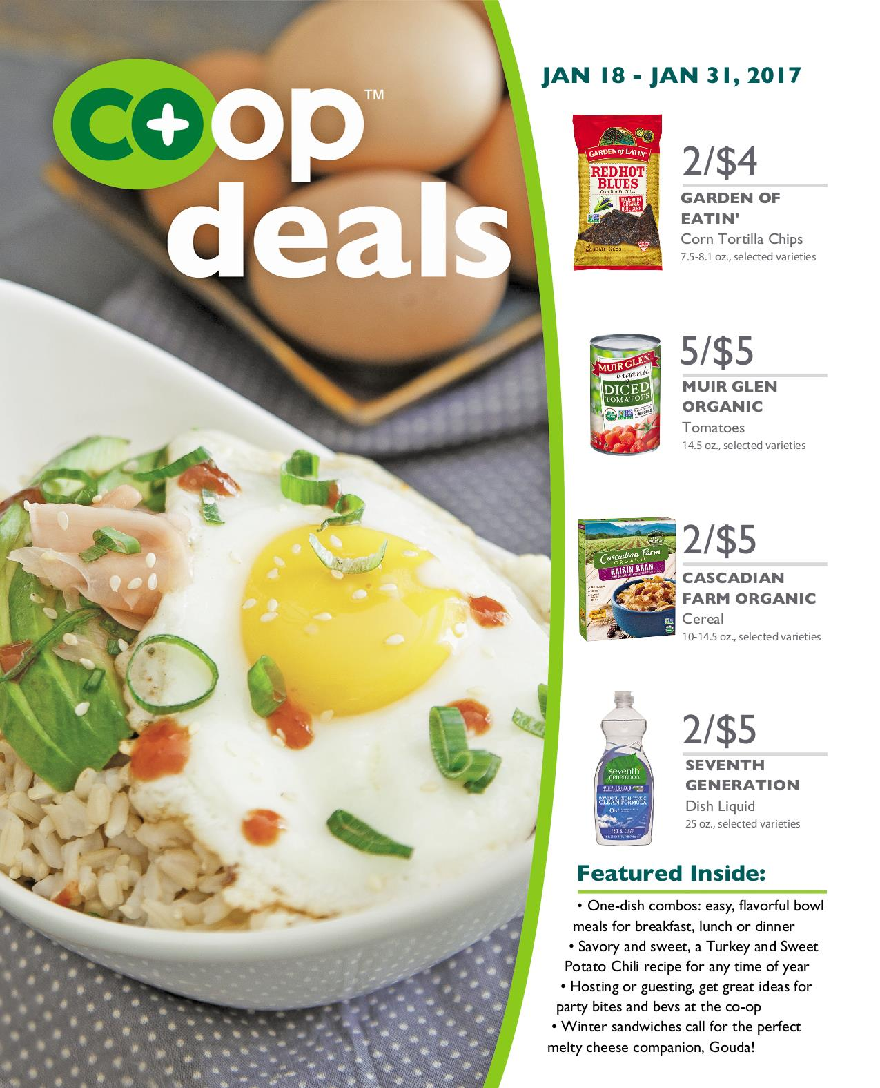 Co+op Deals January 2017 - Flyer B