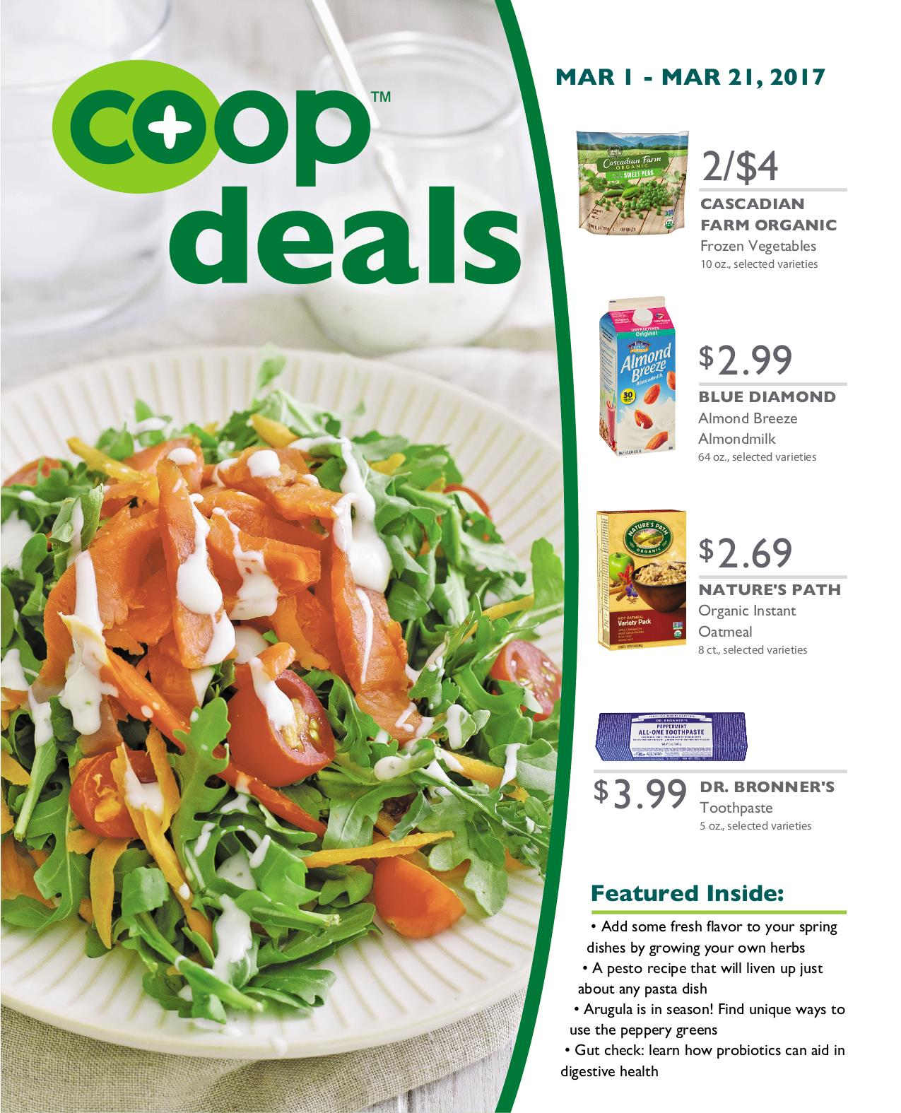 Co+op Deals March 2017 - Flyer A