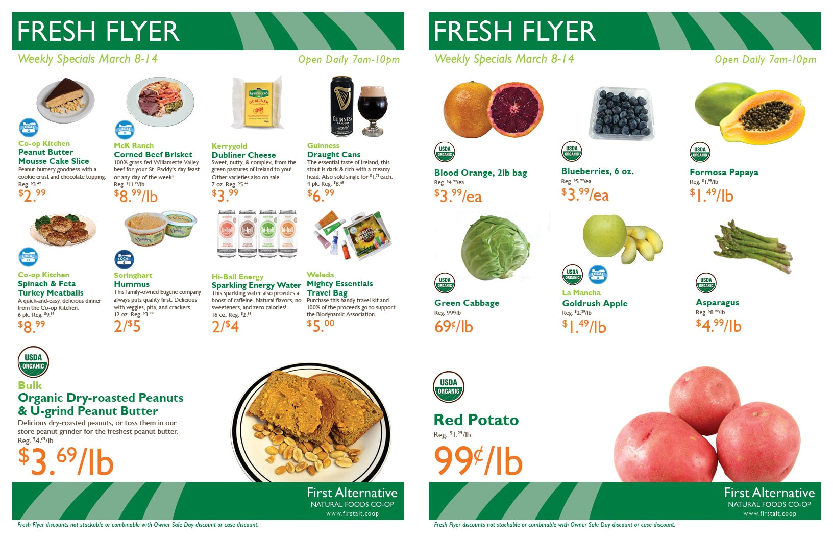 First Alternative Co-op Fresh Flyer Mar. 8-14