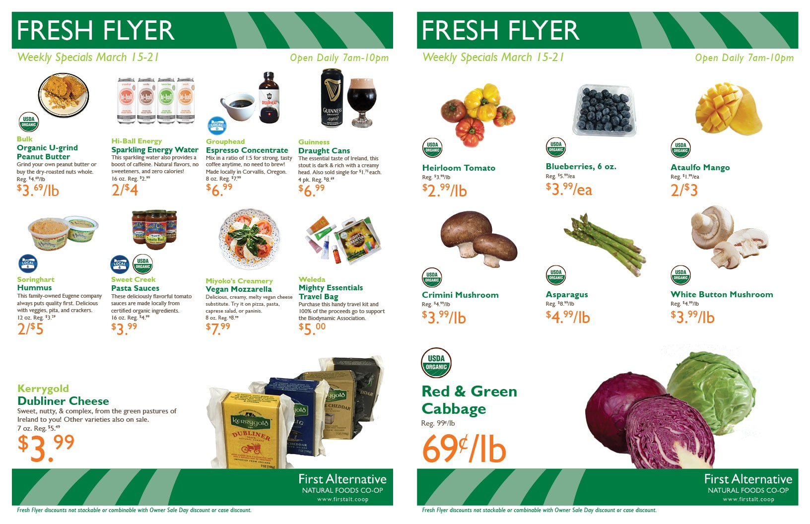 First Alternative Co-op Fresh Flyer Mar. 15-21