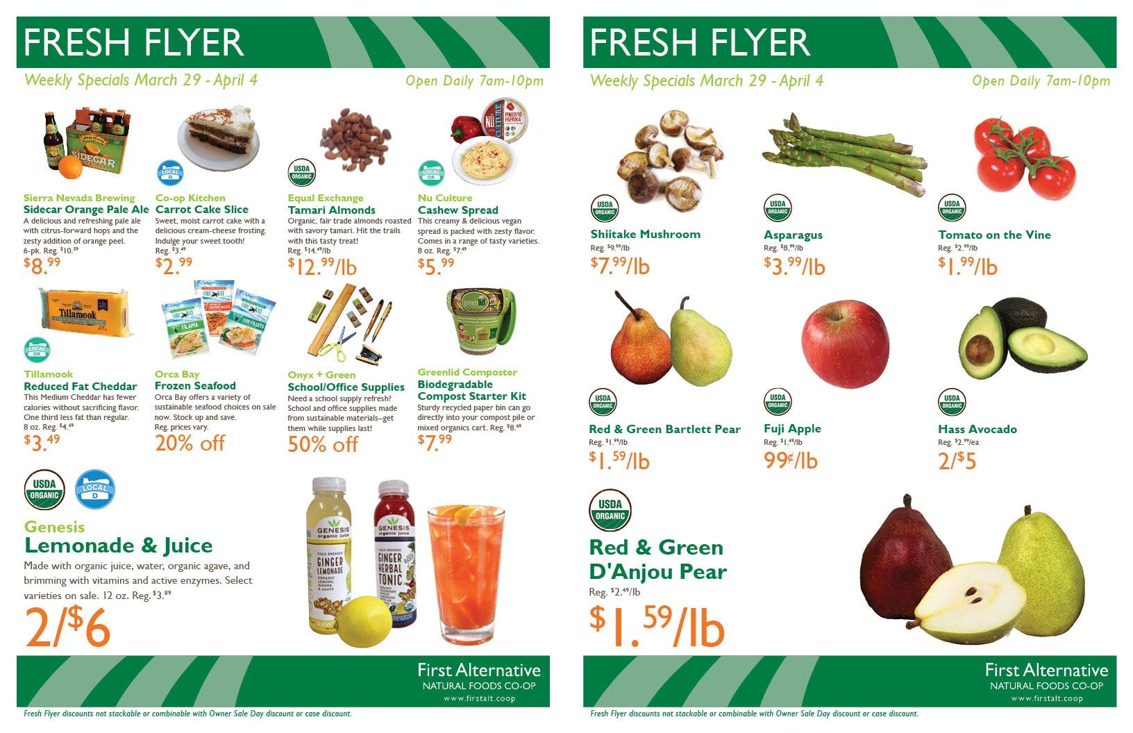 First Alternative Fresh Flyer Mar 29-Apr 4