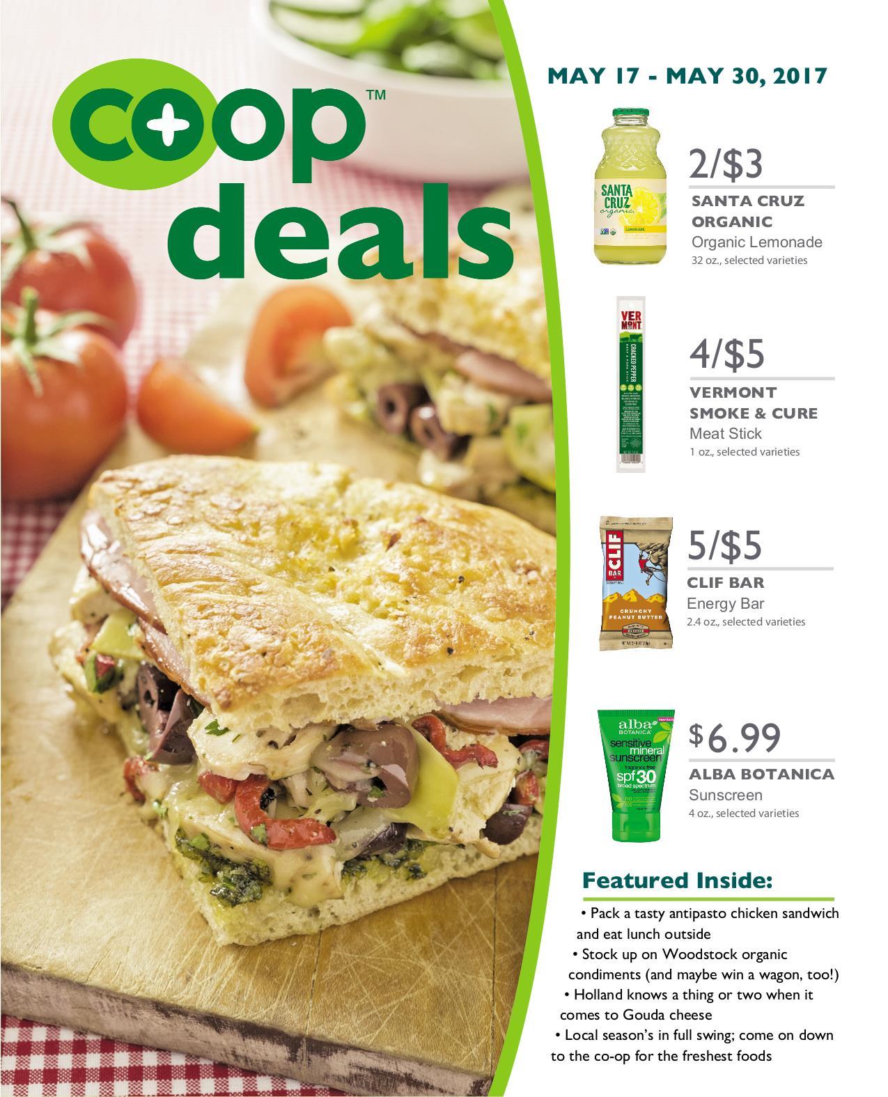 Co+op Deals May 2017 - Flyer B