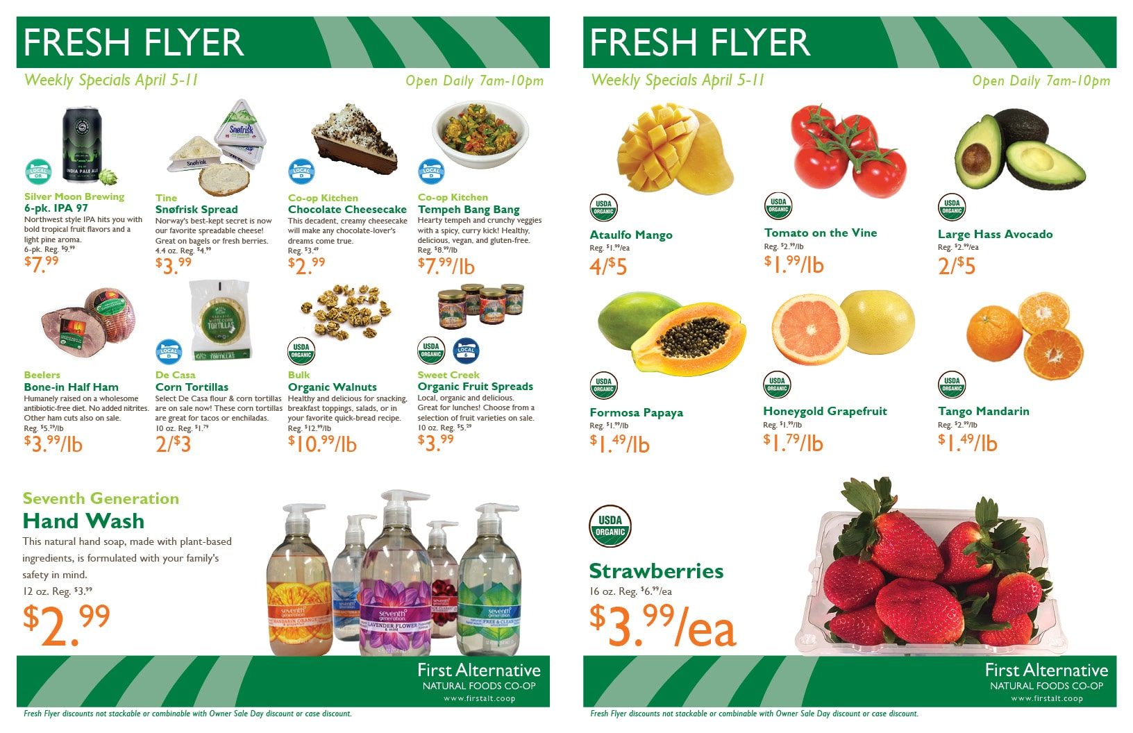 First Alternative Co-op Fresh Flyer Apr. 5-11