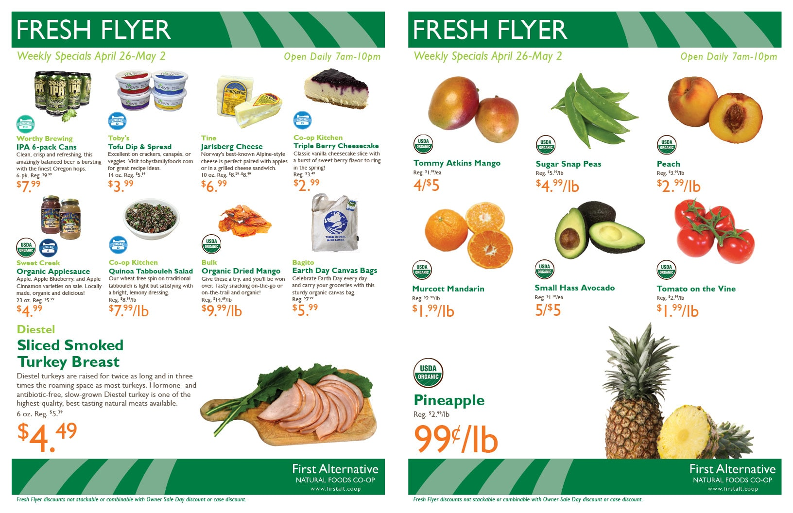 First Alternative Fresh Flyer Apr 26-May 2