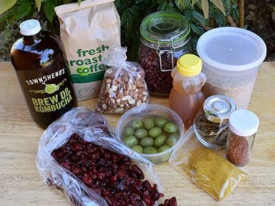 collection of grocery items sold in bulk