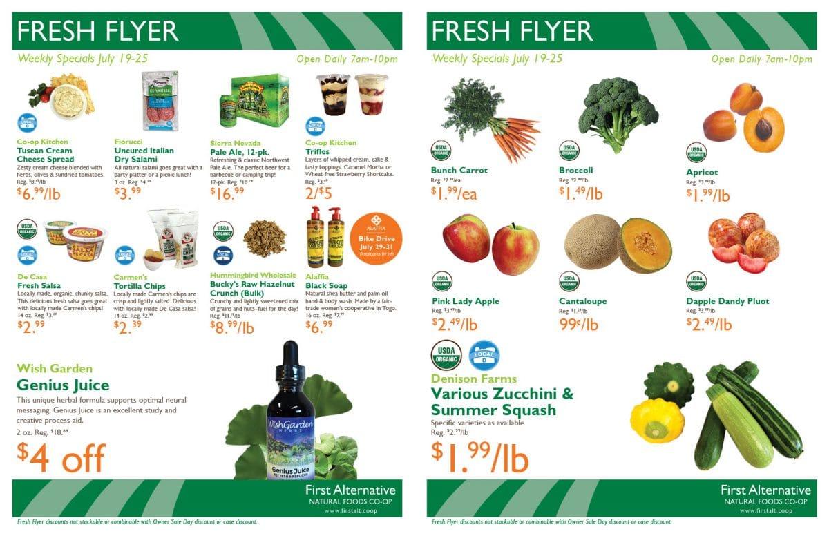 First Alternative Fresh Flyer July 19-25