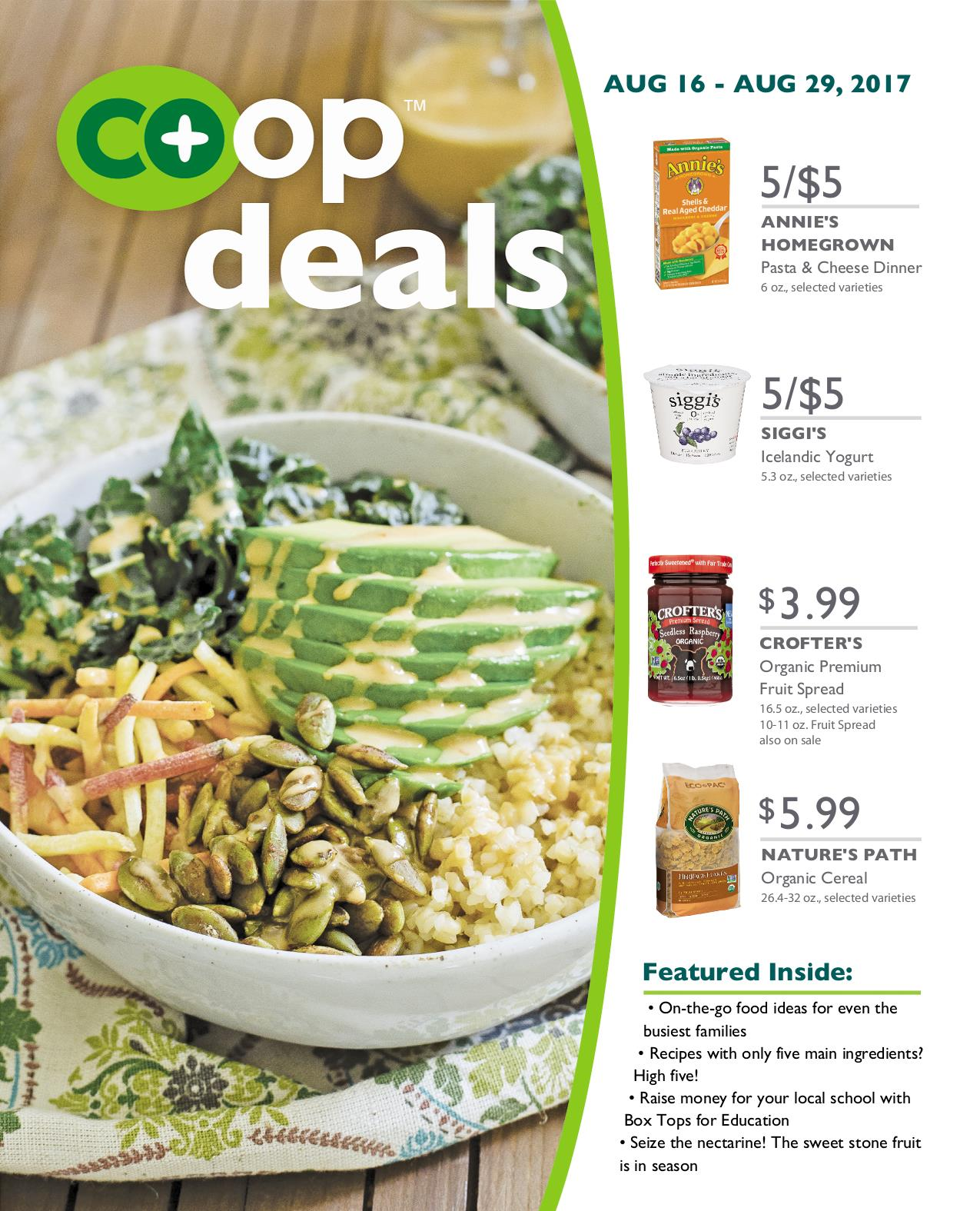 Co+op Deals Aug 2017 Flyer B