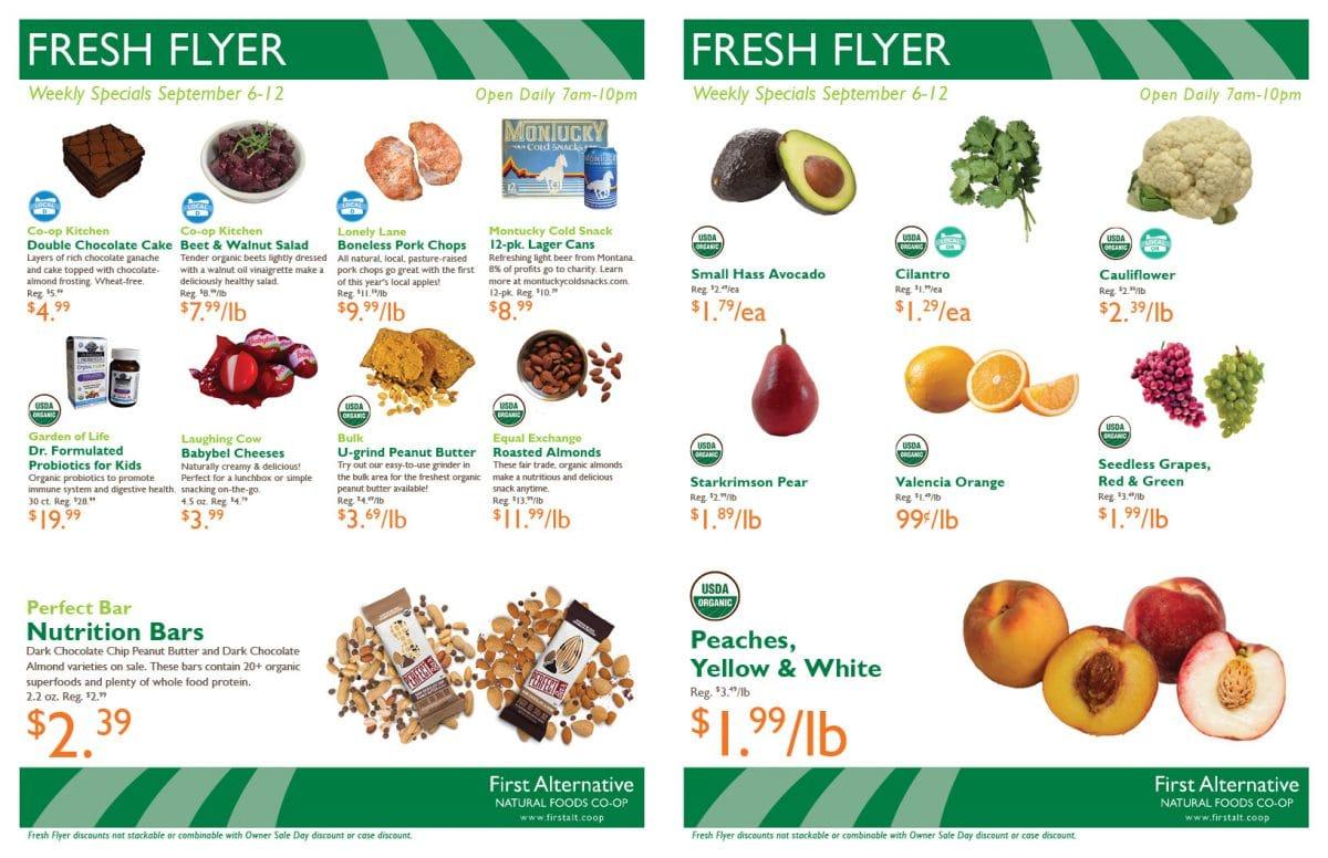 First Alternative Fresh Flyer Sept 6-12