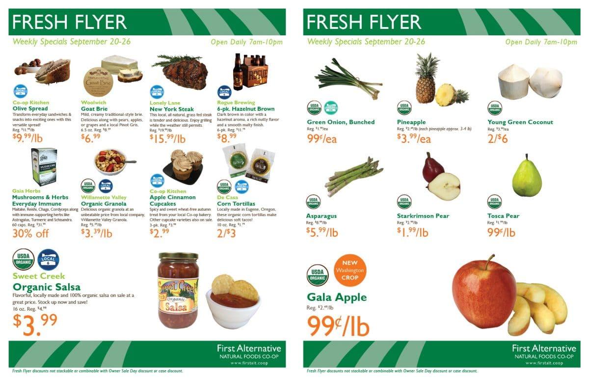 First Alternative Fresh Flyer Sept 20-26