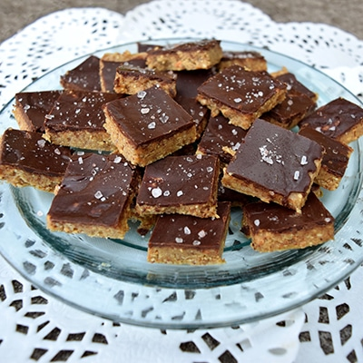 Salted Almond Fudge
