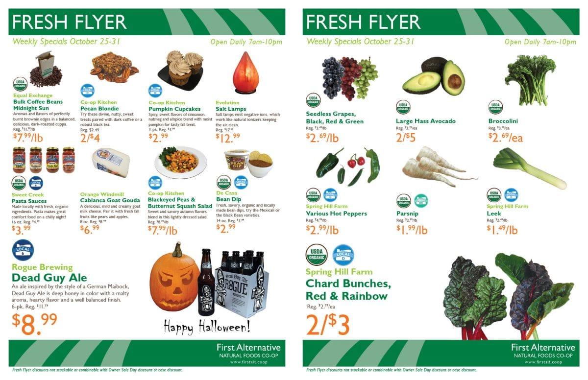 First Alternative Fresh Flyer Oct 25-31