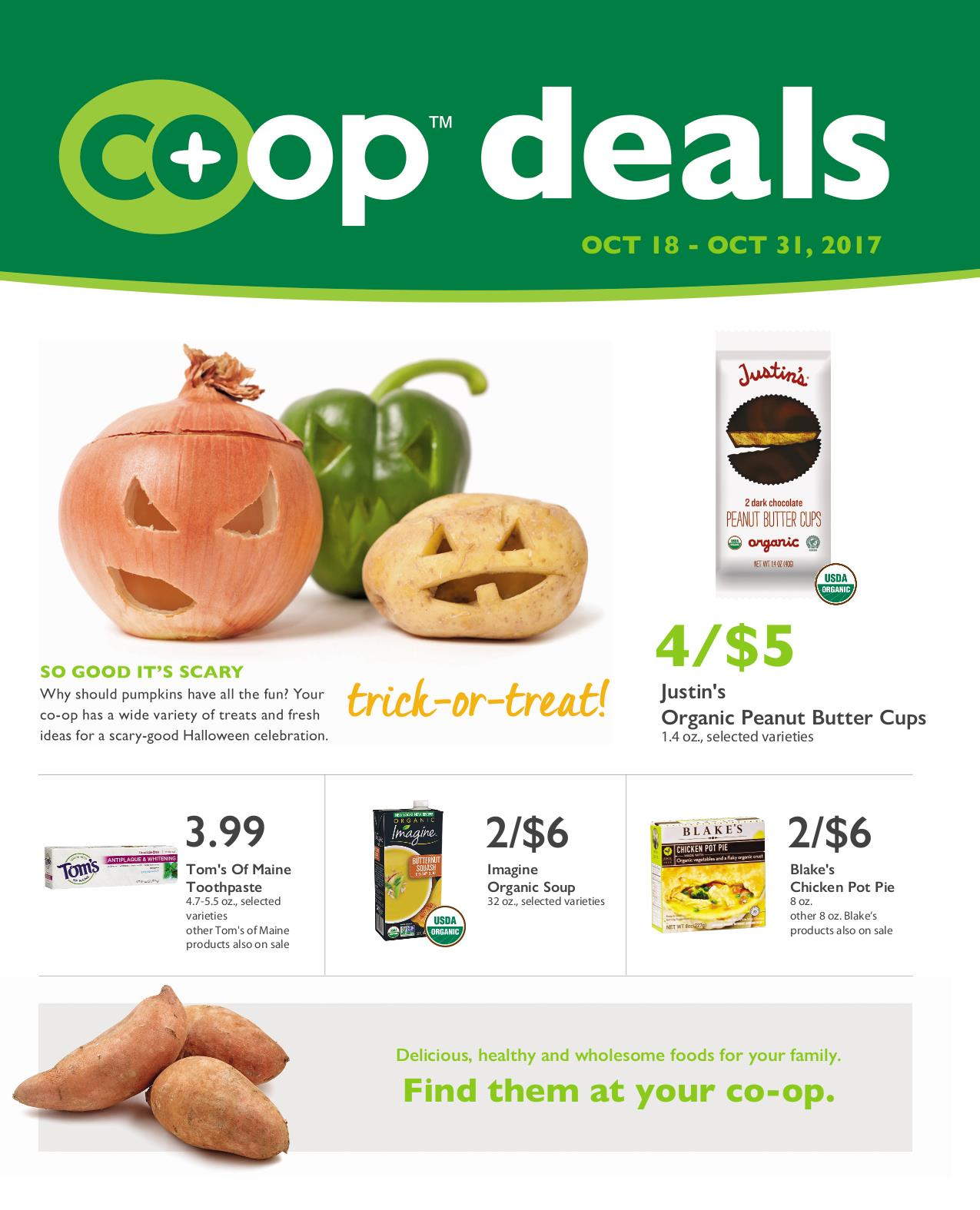 First Alternative Co-op Fresh Flyer October 18-31