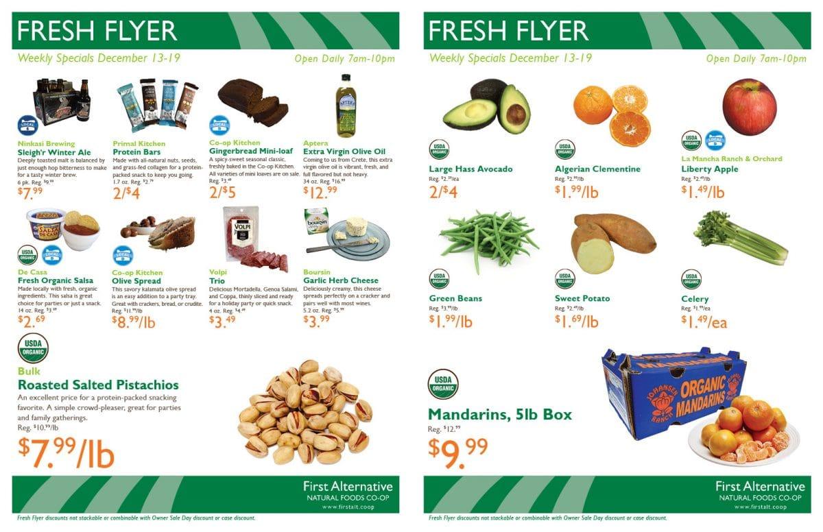 First Alternative Fresh Flyer Dec 13-19
