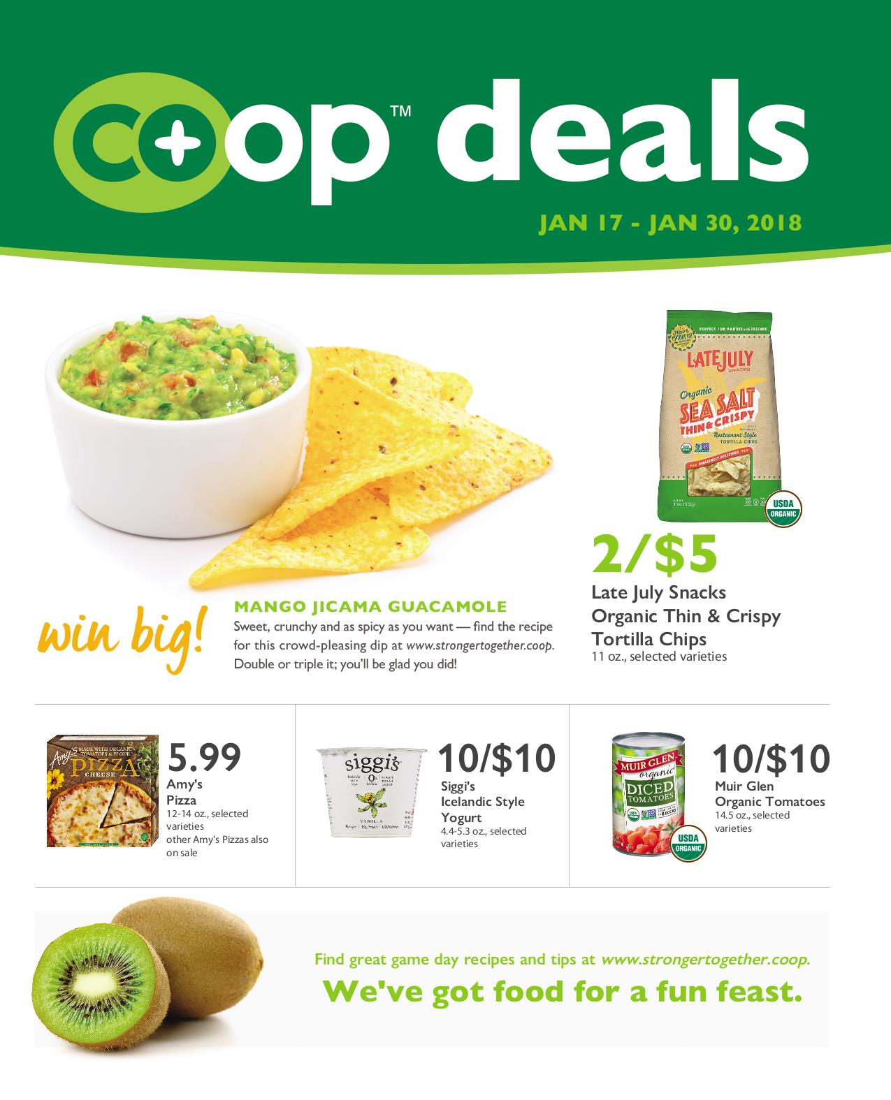 First Alternative Co-op Fresh Flyer January 17-30