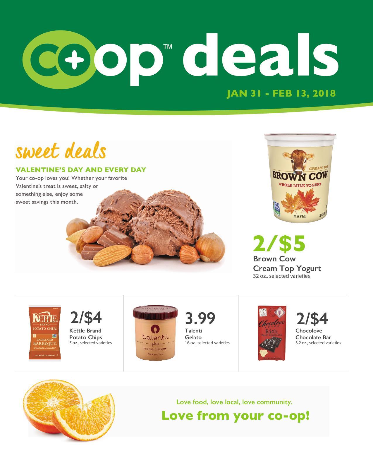 First Alternative Co-op Deals February A