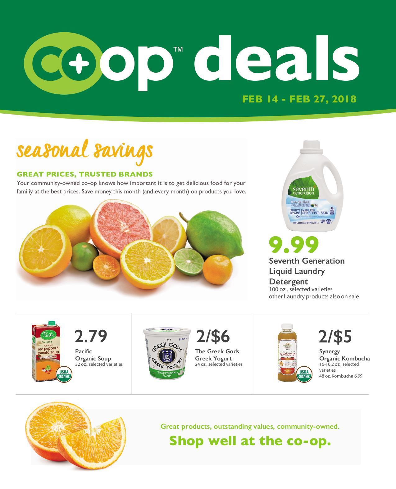 First Alternative Co-op Deals February 14-27