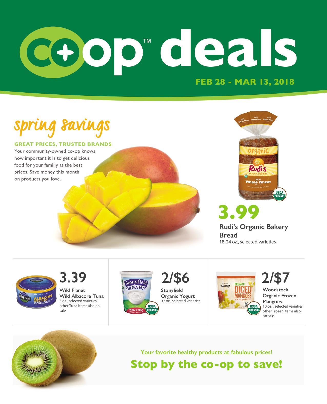 First Alternative Co-op Deals February 28-March 13