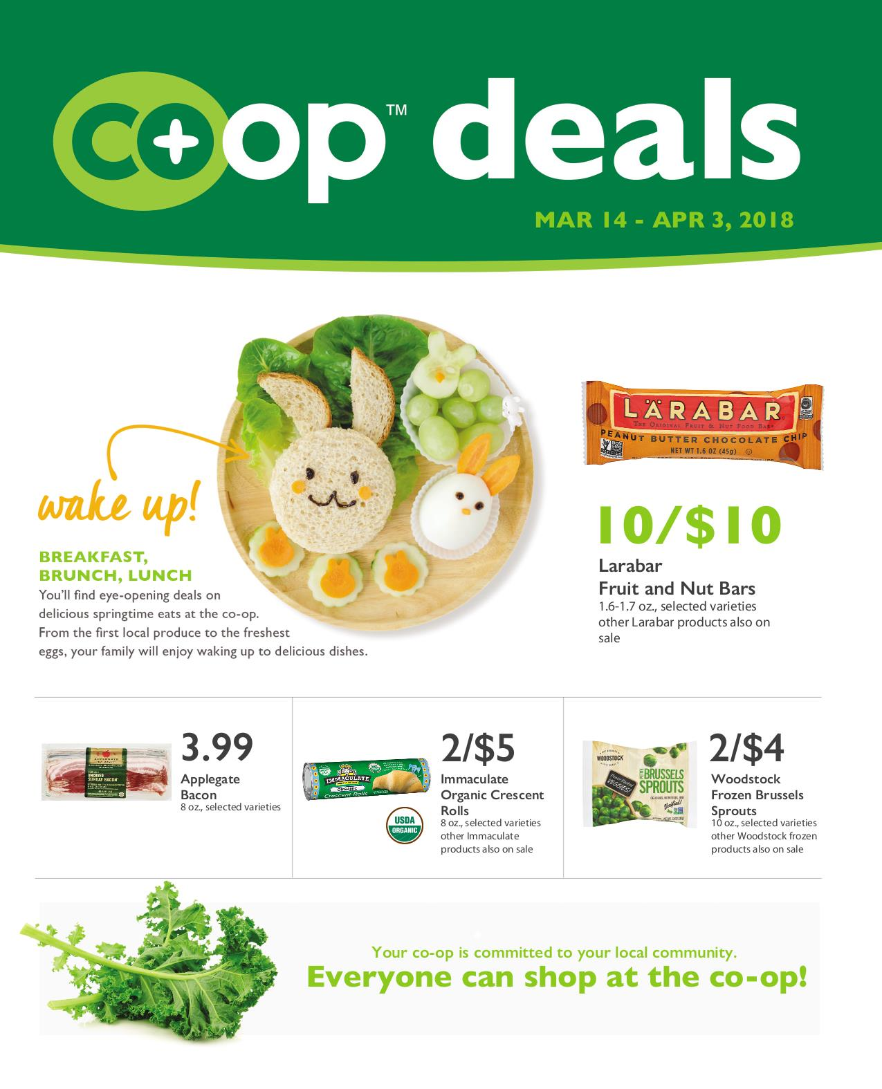 First Alternative Co-op Deals March 14-April 3
