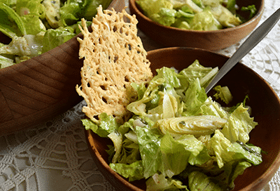 Toasted Parmesan Salad