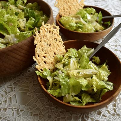 Toasted Parmesan Salad