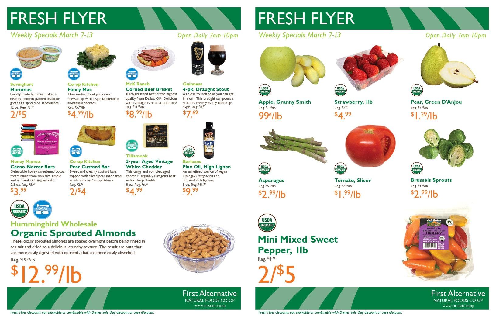 First Alternative Fresh Flyer 2018 Mar 7-13