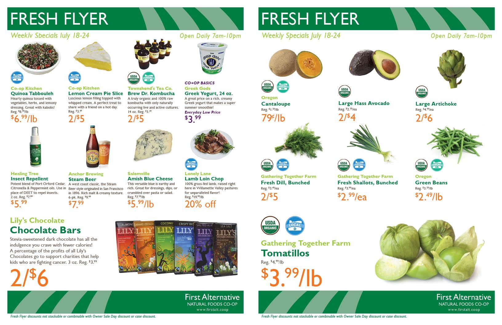 First Alternative Fresh Flyer July 18-24