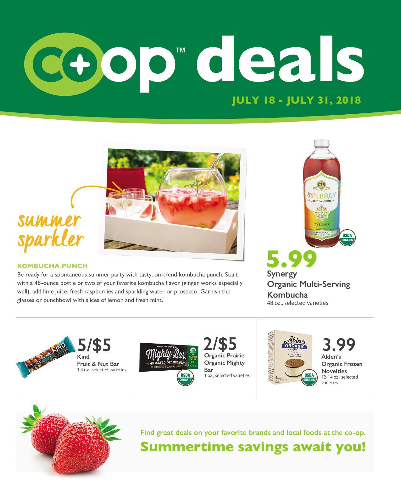 Co+op Deals July 2018 Flyer B
