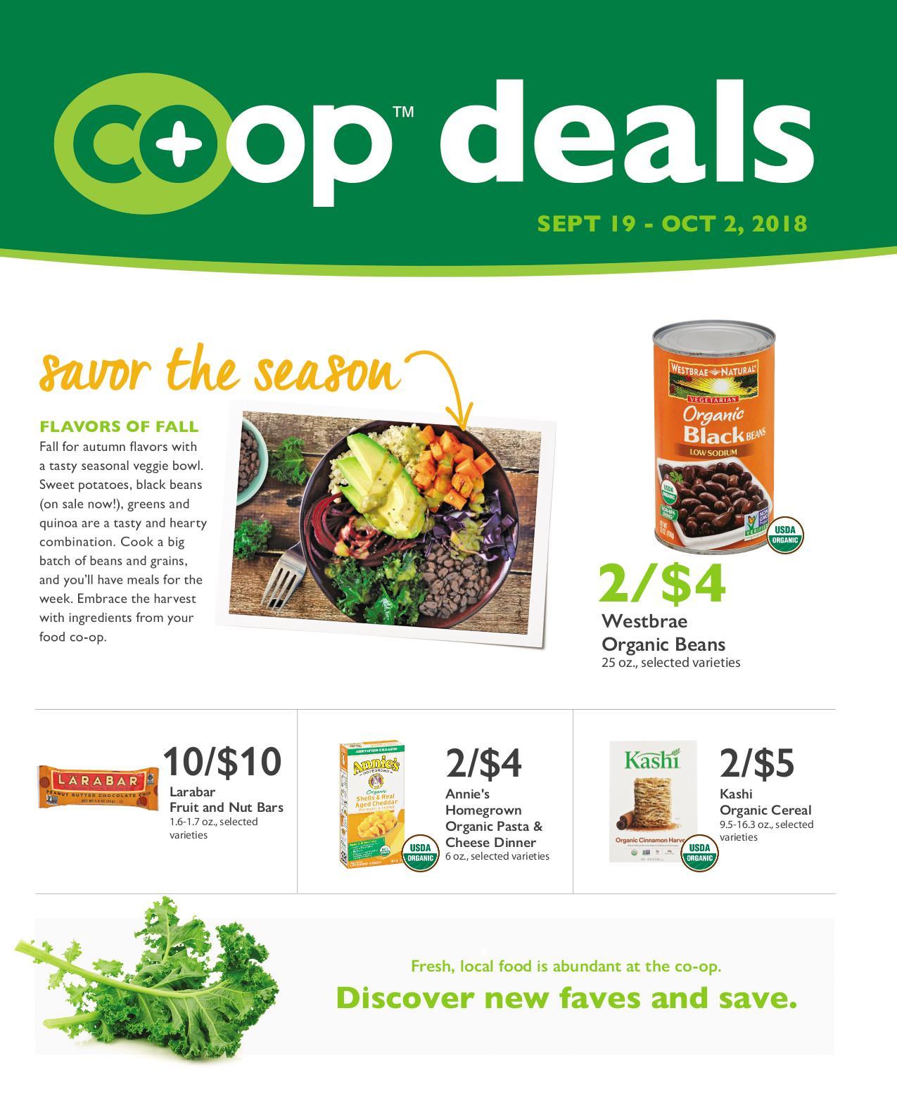 Co+op Deals Sept 2018 Flyer B
