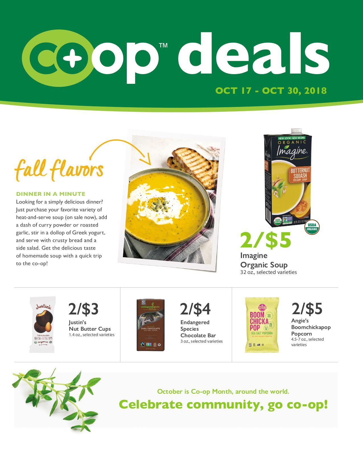 Co+op Deals Oct 2018 Flyer B