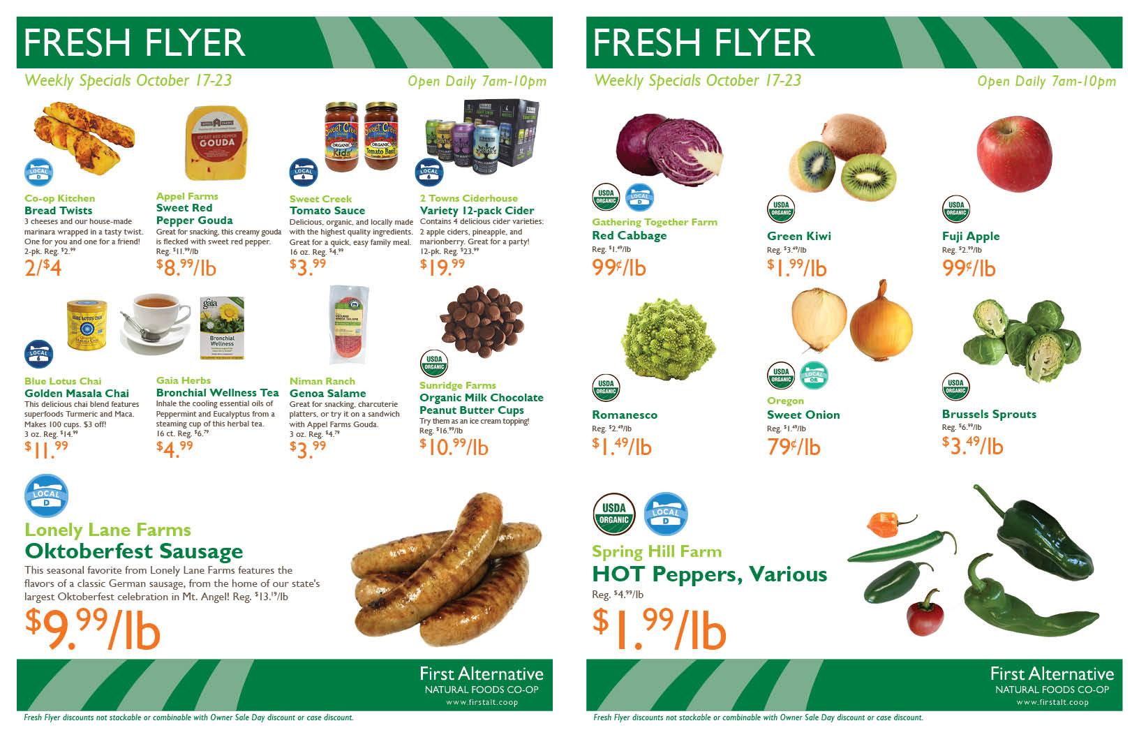 First Alternative Fresh Flyer Oct 17-23