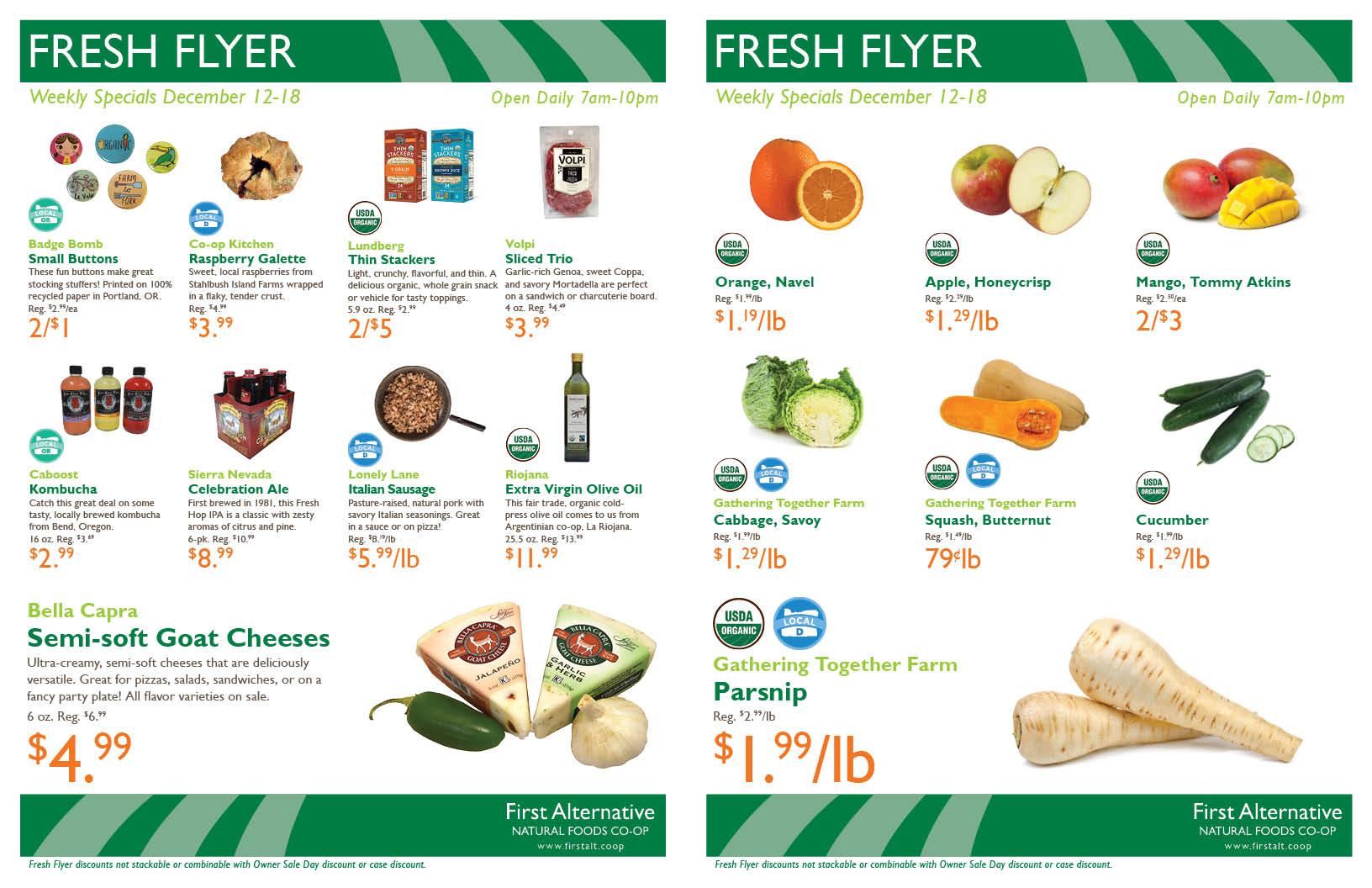 First Alternative Fresh Flyer Dec 12-18