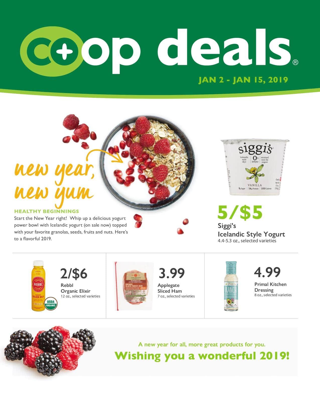 First Alternative Co-op Fresh Flyer January 2-15