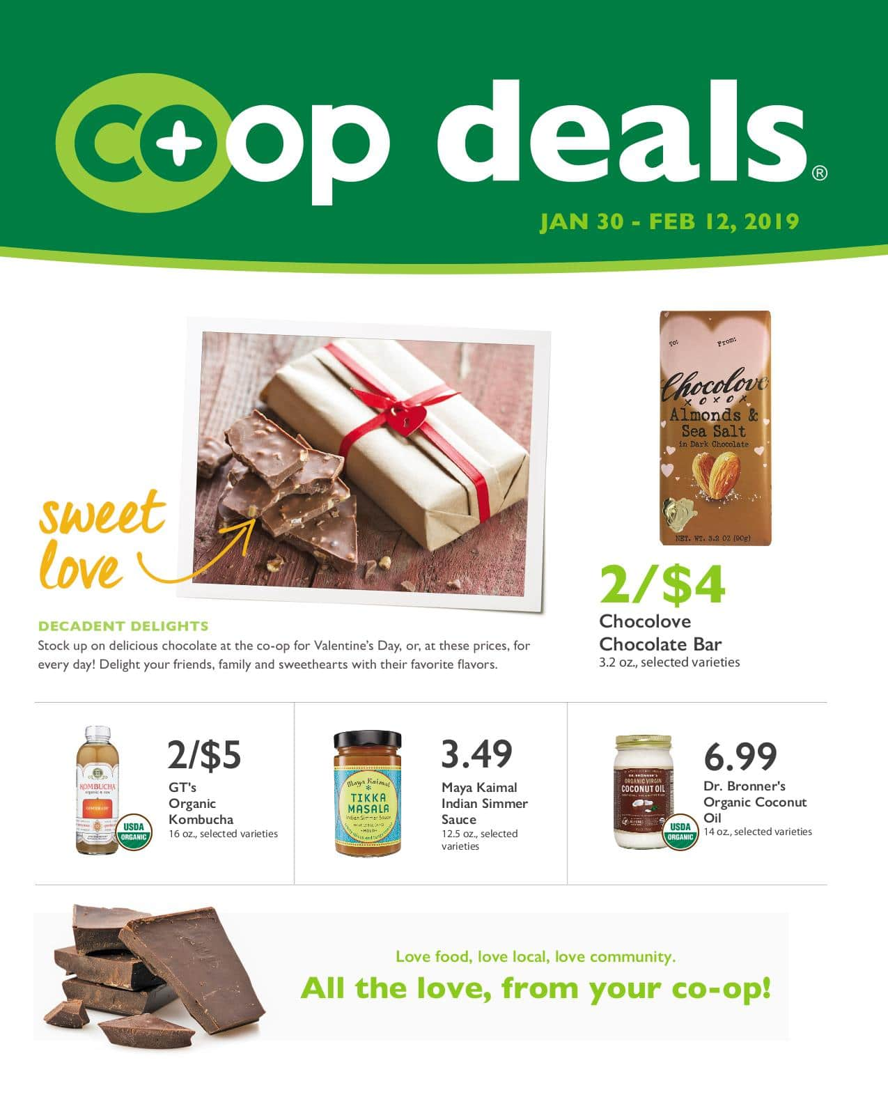 First Alternative Co-op Fresh Flyer January 30-February 12