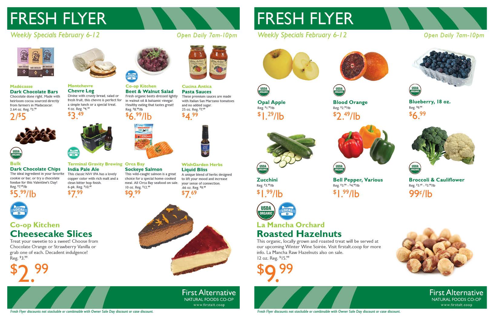 First Alternative Co-op Fresh Flyer February 6-12