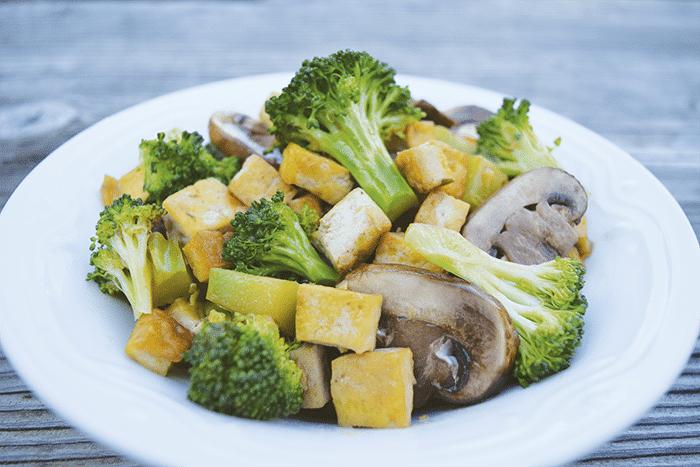 Ginger Broccoli Tofu