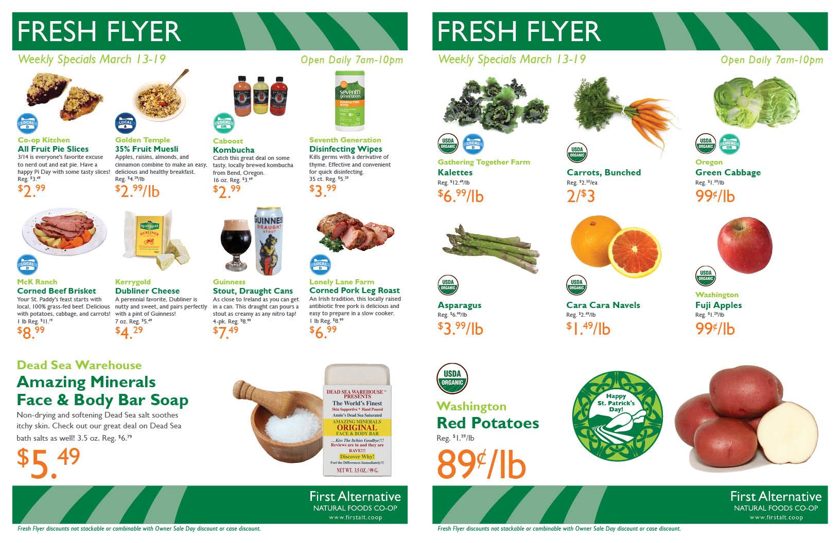 First Alternative Co-op Fresh Flyer March 13-19