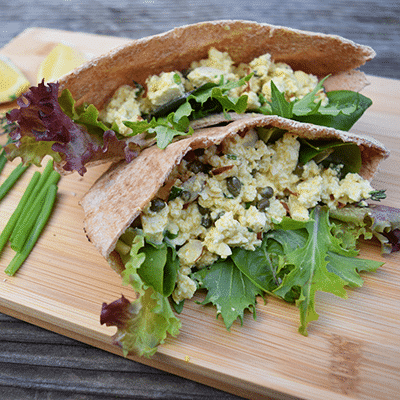 Lemony Tofu Egg Salad