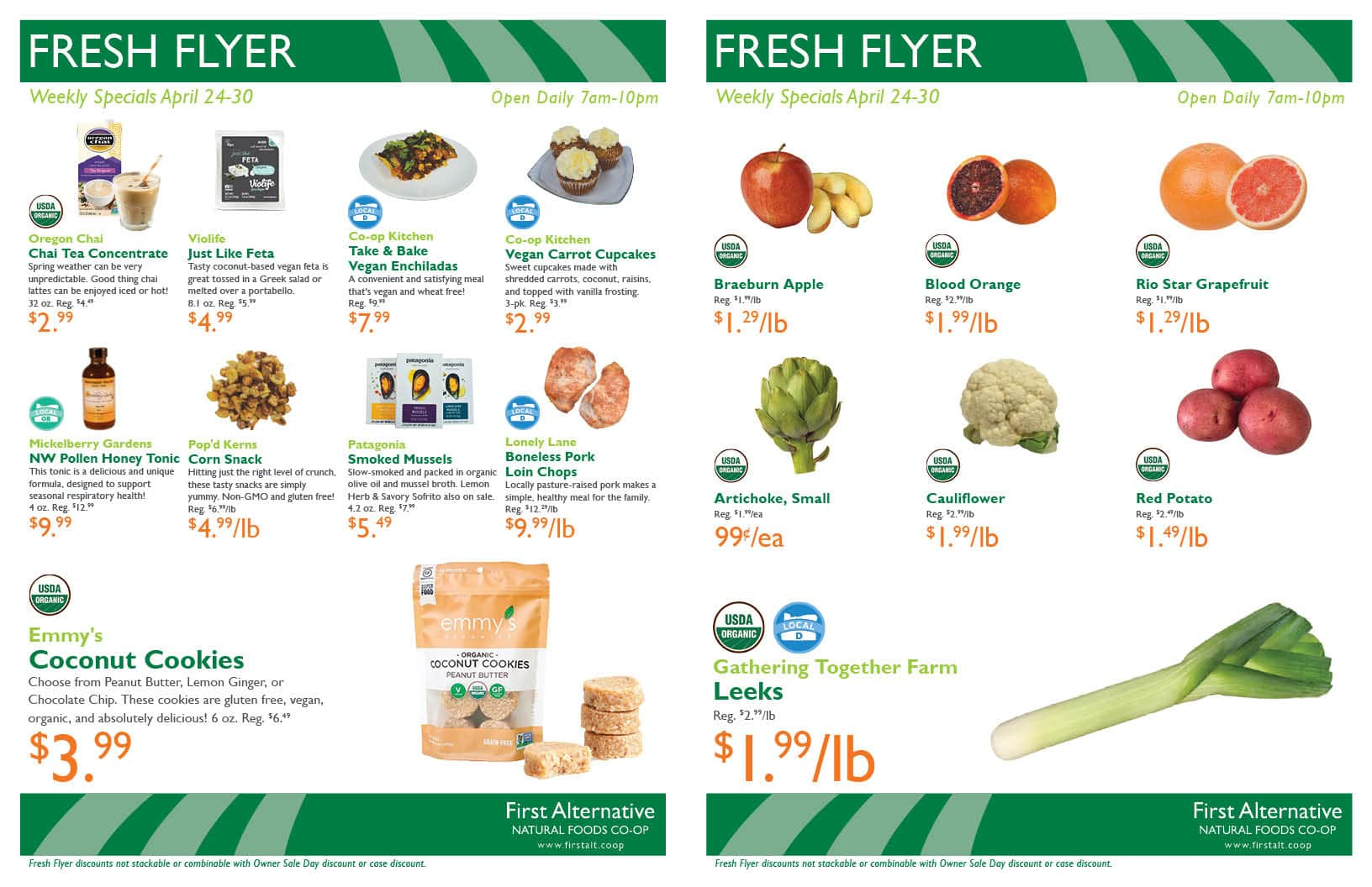 First Alternative Co-op Fresh Flyer May 24-30