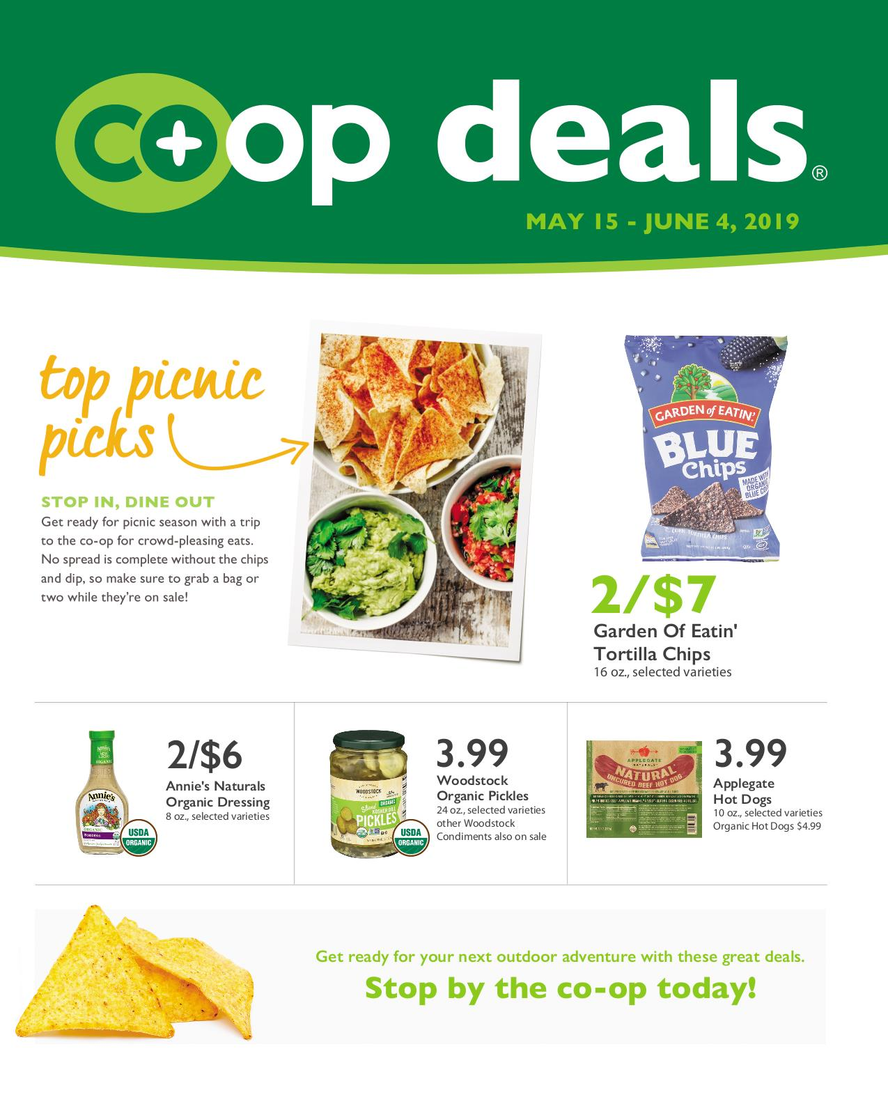 First Alternative Co-op Co-op Deals Flyer May 15-June 4